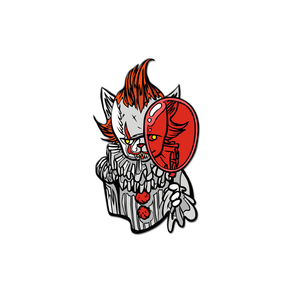 Clown Kitty 2017 Enamel Pin - Dystopian Designs
