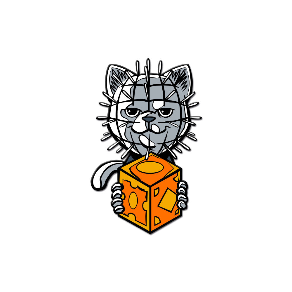 Hell Kitty Enamel Pin - Dystopian Designs