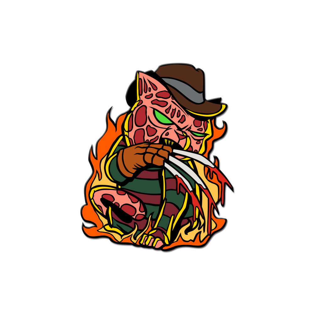 Nightmare Kitty Enamel Pin - Dystopian Designs