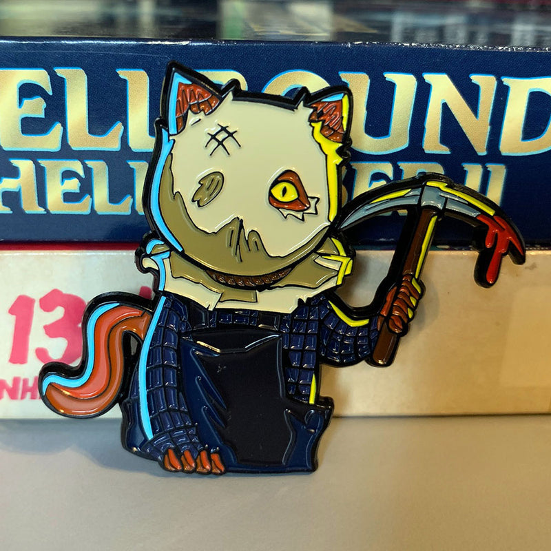 Sackhead Kitty Enamel Pin