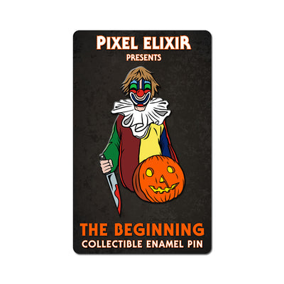 The Beginning Enamel Pin - Dystopian Designs