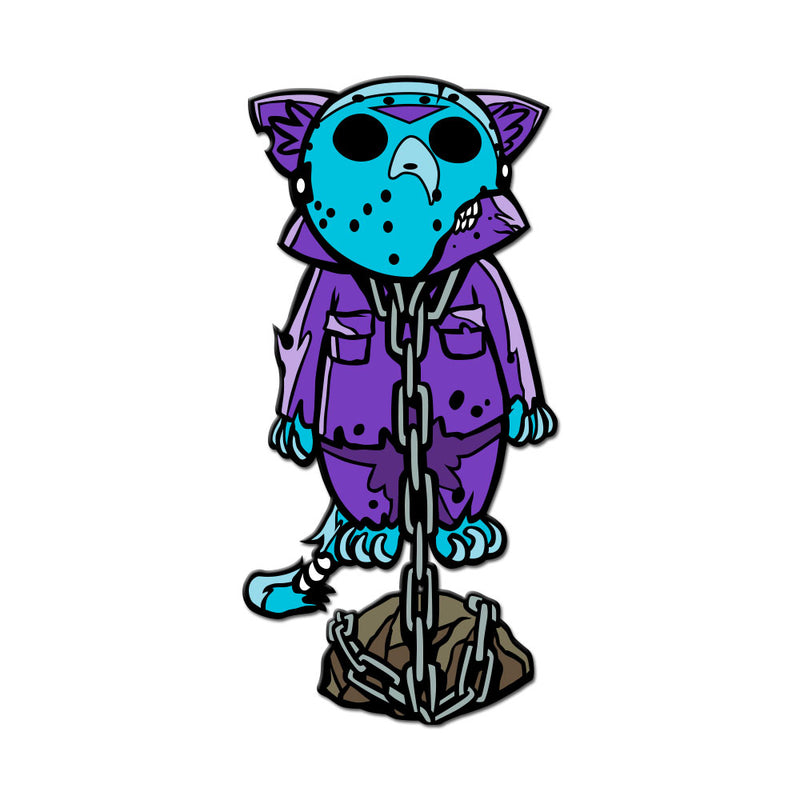 Camp Killer Kitty Enamel Pin