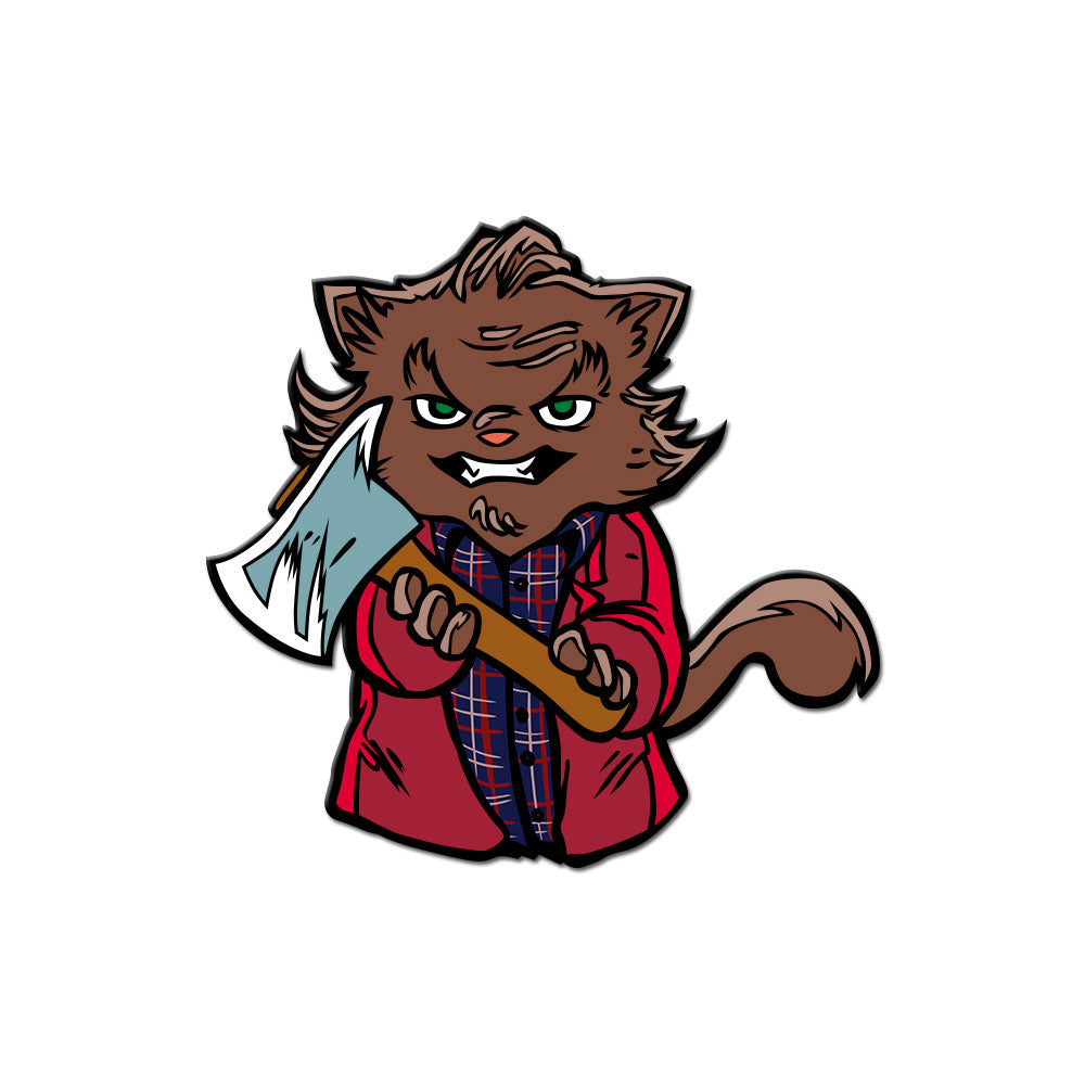 Cat Torrance Enamel Pin
