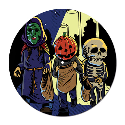 Trick or Treat Turntable Slipmat - Dystopian Designs