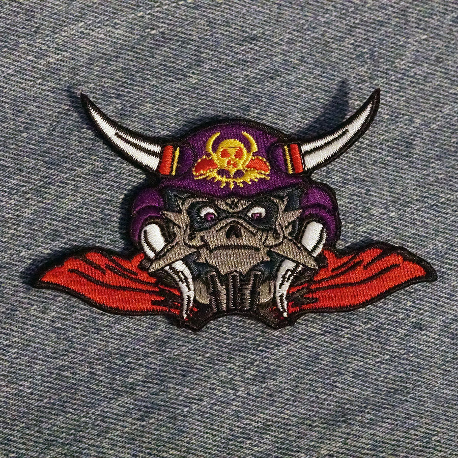 "Volkor X 4"" Embroidered Patch"
