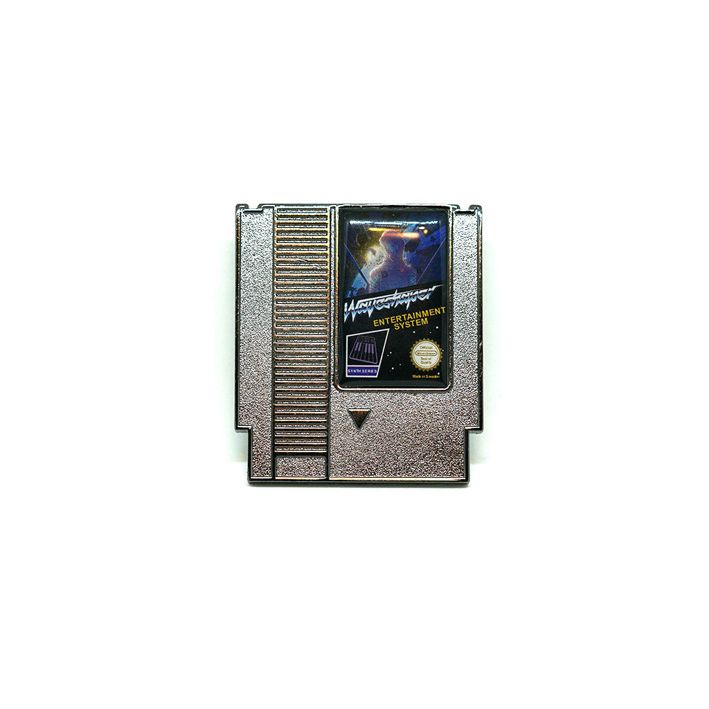 Waveshaper NES Cartridge Enamel Pin (Grey) - Dystopian Designs