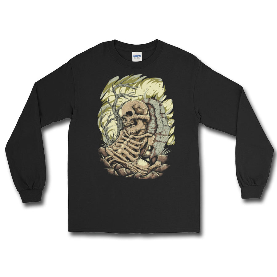 Whiskey Funeral Long Sleeve T-Shirt