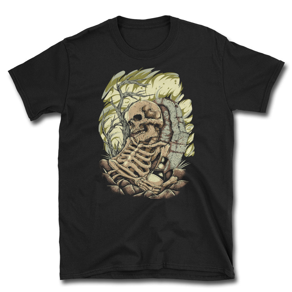 Whiskey Funeral T-Shirt - Dystopian Designs