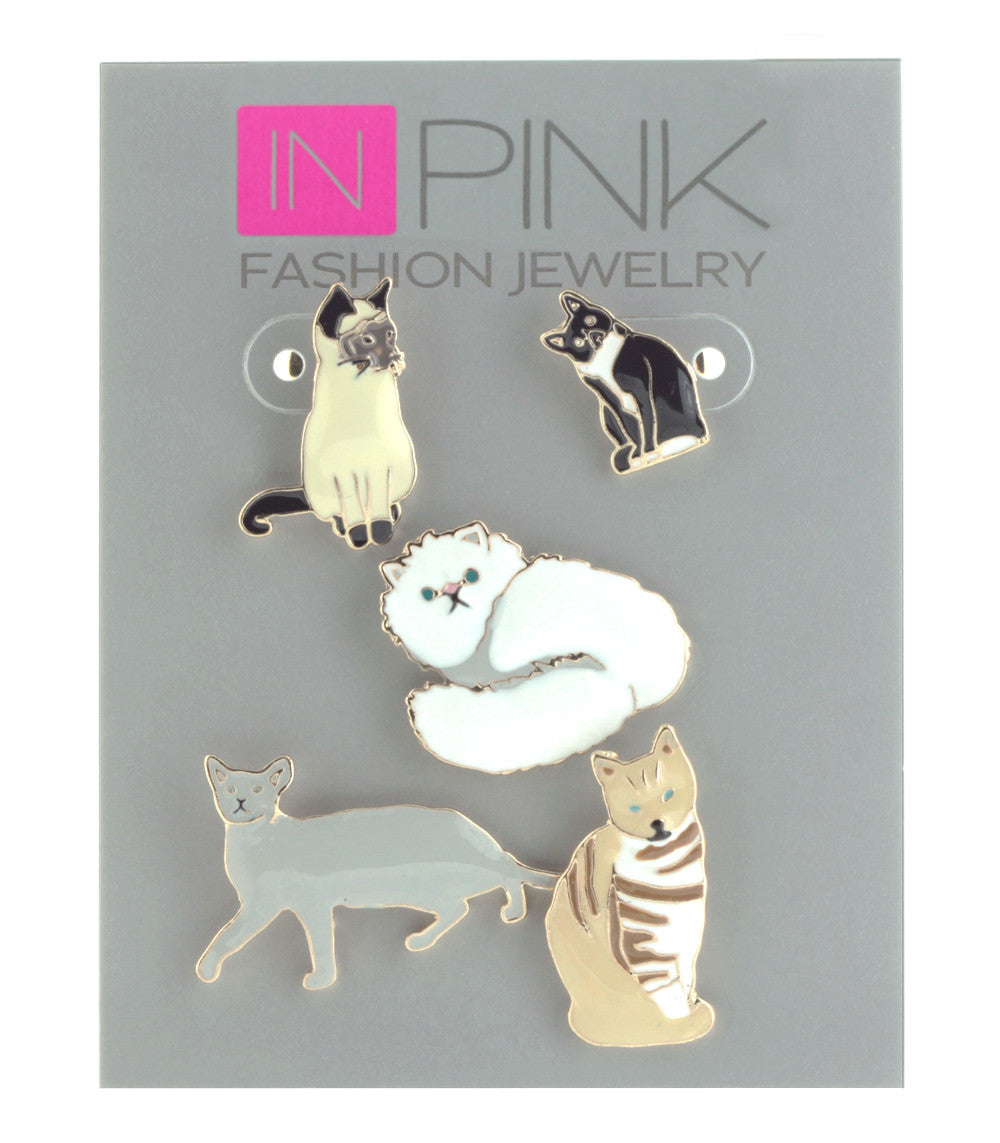 Pin Set- Cats