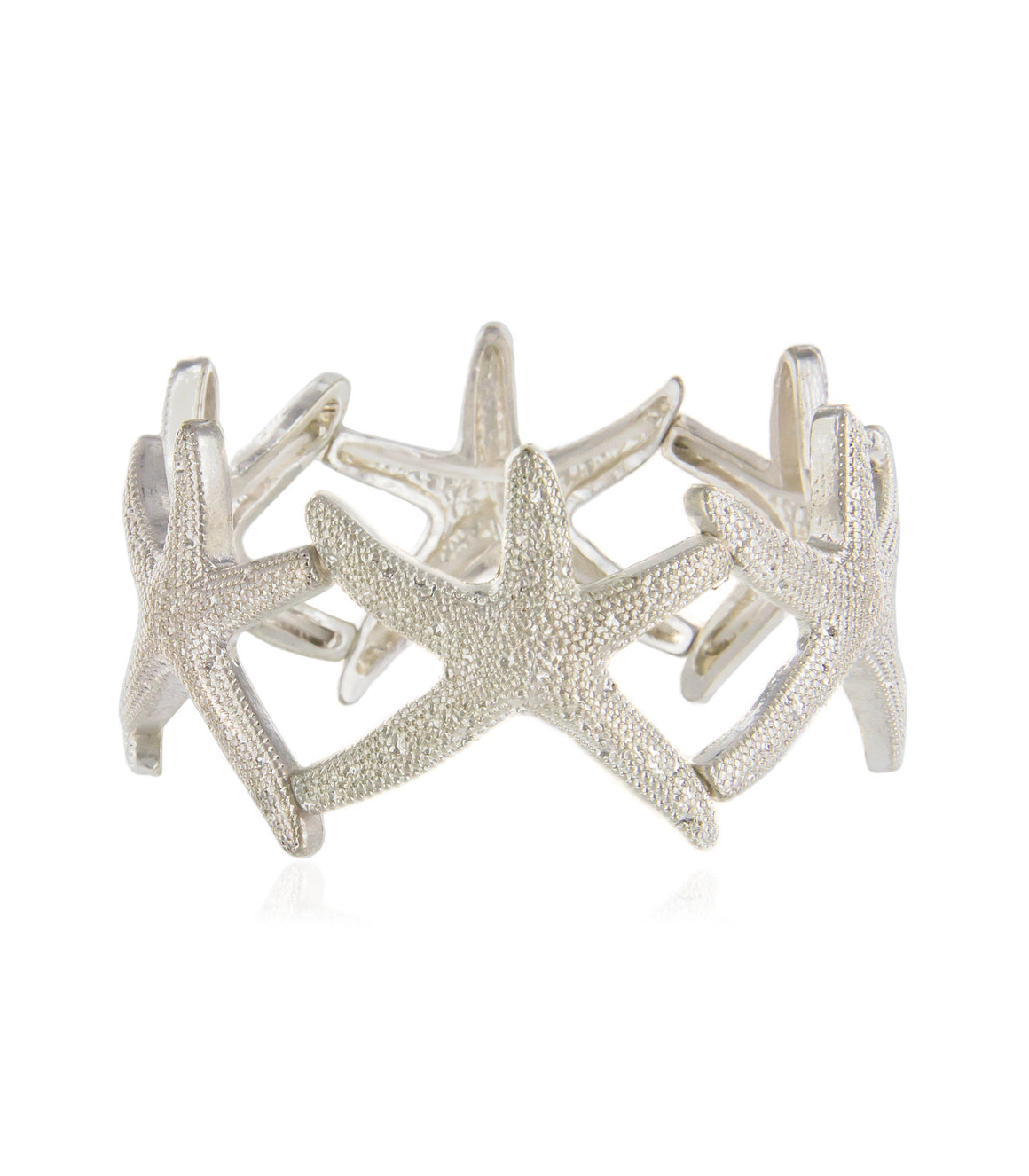 Ochre Starfish Stretch Bracelet