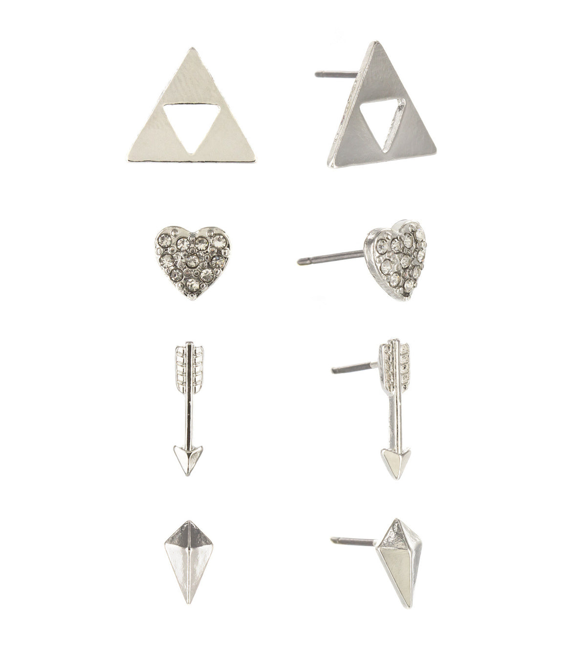 triforce triangle studs