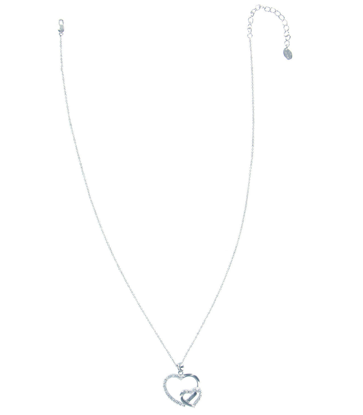 925 sterling heart love necklace