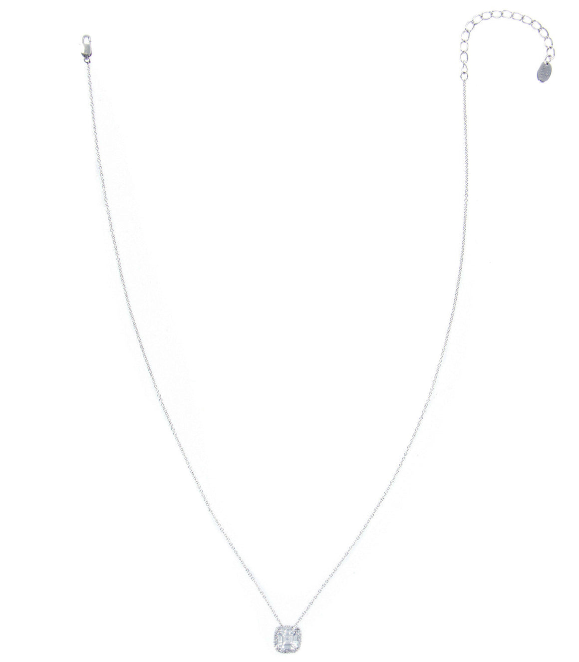 925 sterling silver with cubic zirconia Pendant Necklace