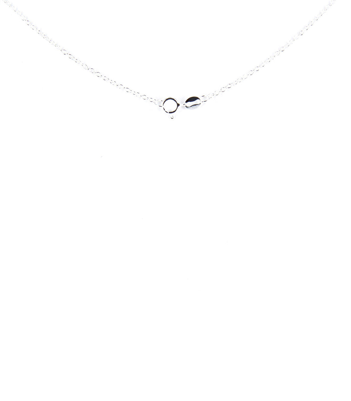 925 Sterling silver heart Y-Shape Necklace