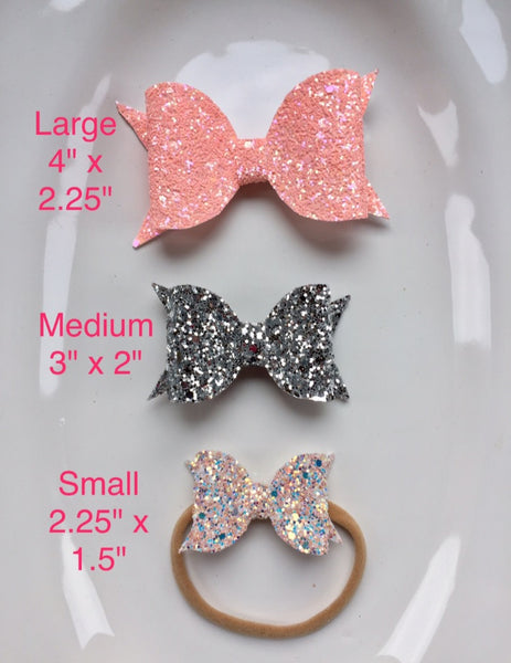 Custom Hairbow to match outfit