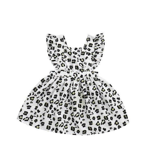 Leopard Ruffle Dress - Apollo & Wynn