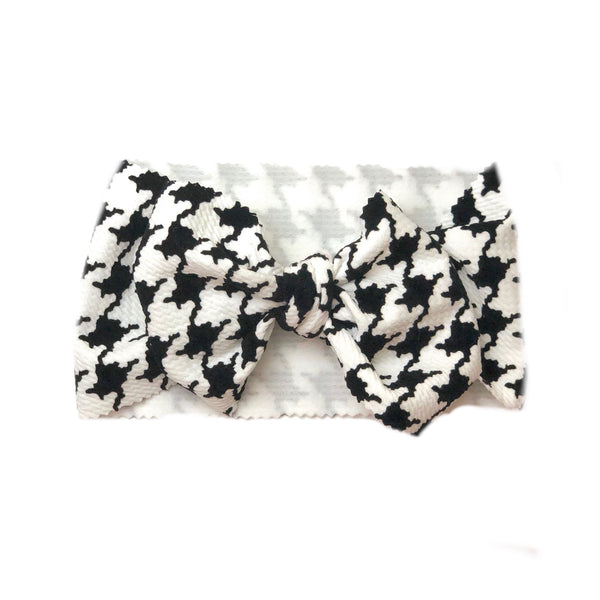 Houndstooth Head Wrap