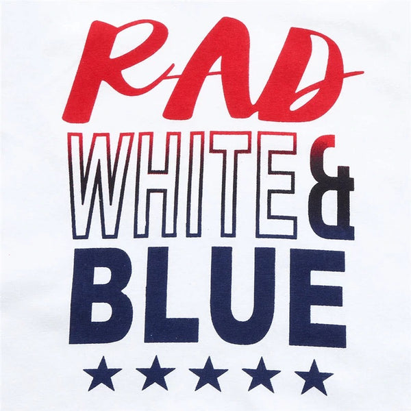Rad, White & Blue Outfit