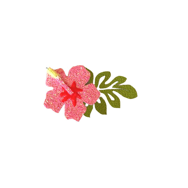 Tropical Hibiscus Bow