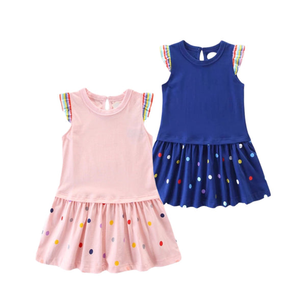 Polka Dot Dress Set - Apollo & Wynn