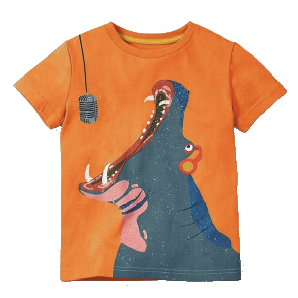 Hippo Singing Shirt