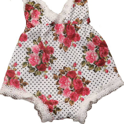 Roses Lace Romper
