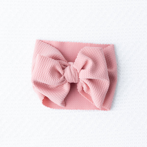 Dusty Rose Head Wrap - Apollo & Wynn