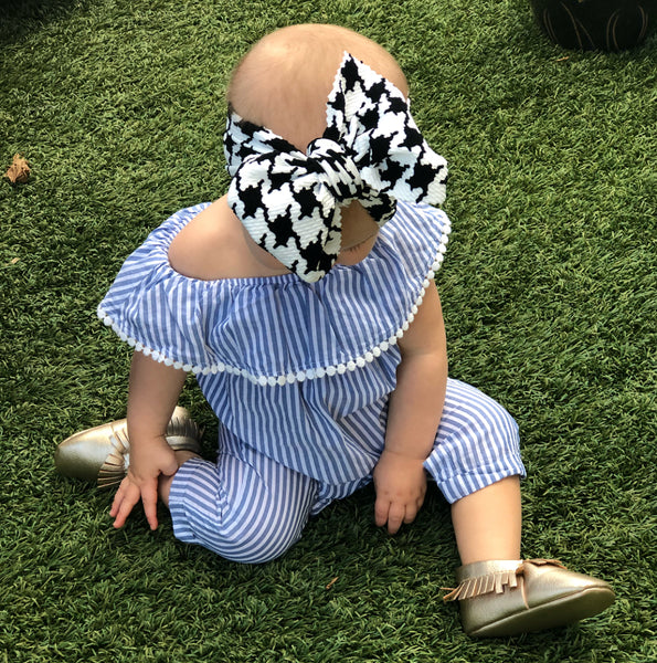 Houndstooth Head Wrap - Apollo & Wynn