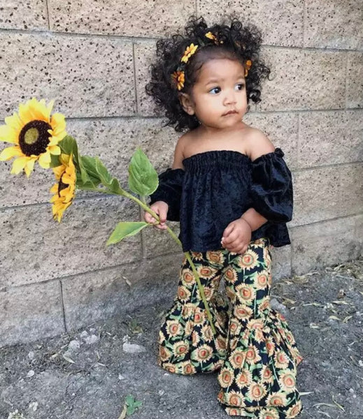Sunflower outfit