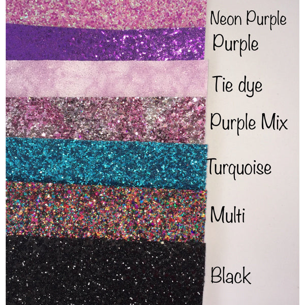 Juliette Bow (Pick your Glitter) Headband