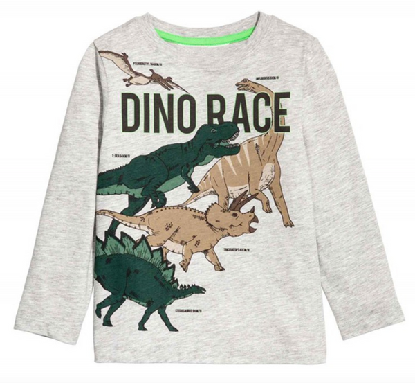 Dinosaur Race Shirt - Apollo & Wynn