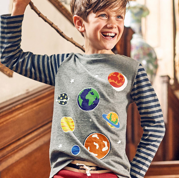 Glow in the Dark Planets Shirt
