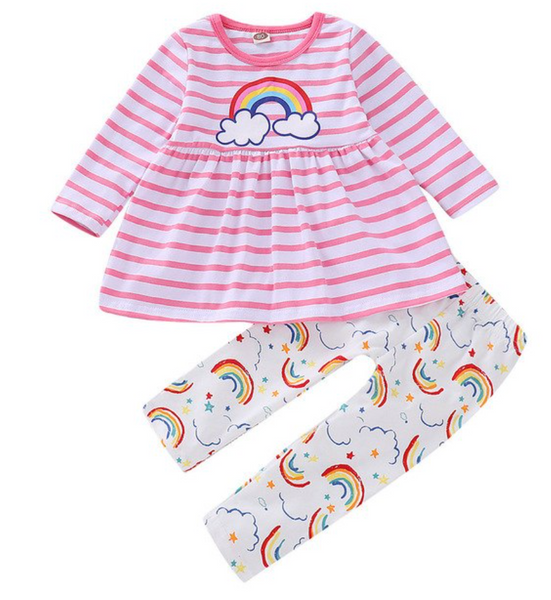 Rainbow Outfit Set