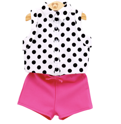 Polka Dot Tank & Shorts - Apollo & Wynn