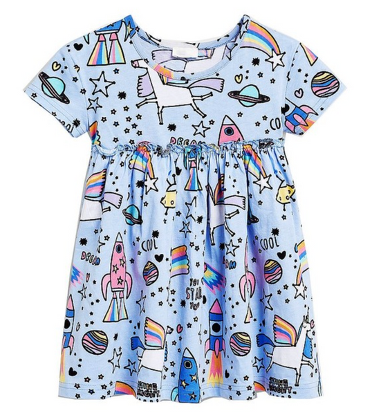 Unicorn Space Dress