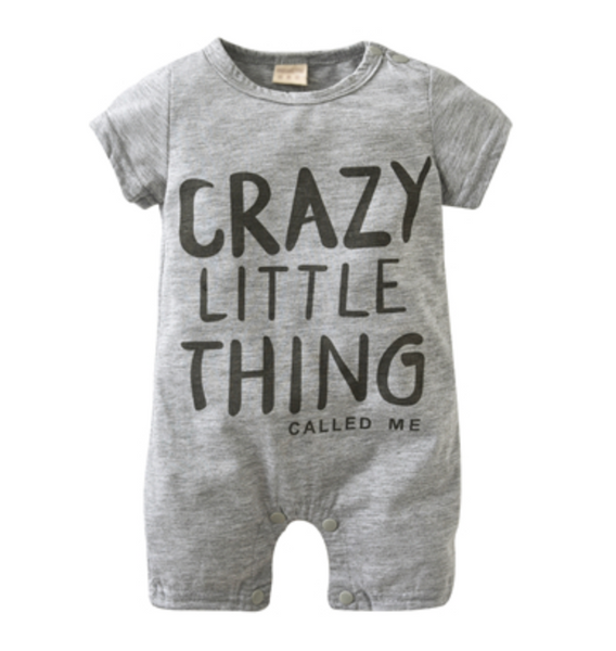 Crazy little thing Romper - Apollo & Wynn