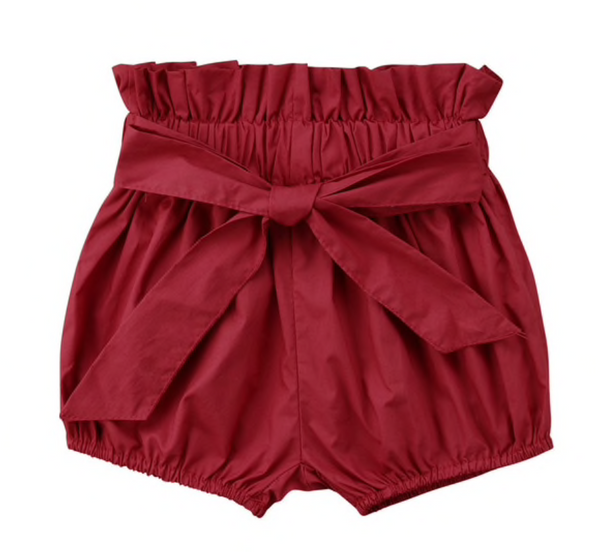 High Waist Shorts with Bow - Apollo & Wynn