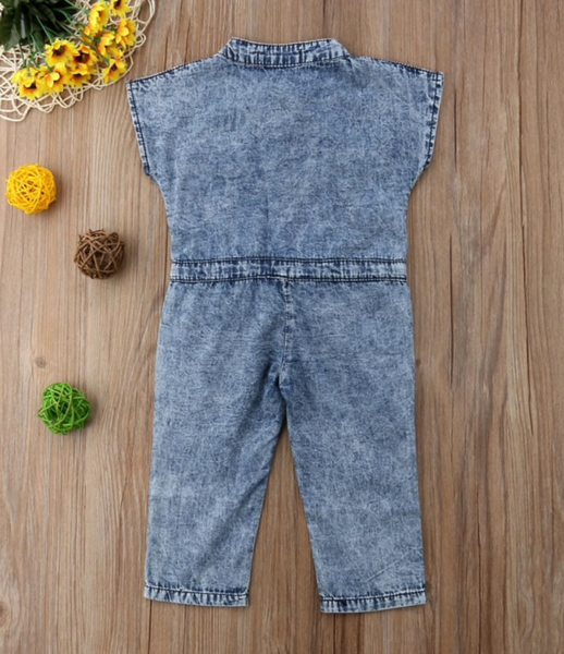 Denim Jumpsuit - Apollo & Wynn