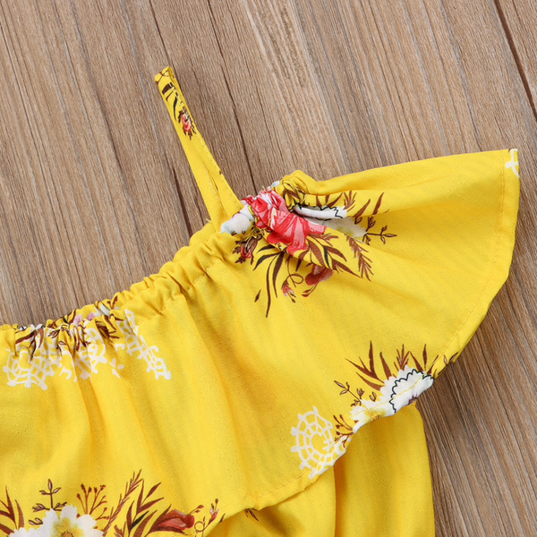 Yellow Floral Outfit