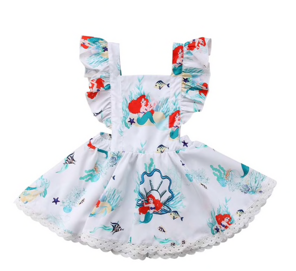Ariel Mermaid Princess Dress - Apollo & Wynn