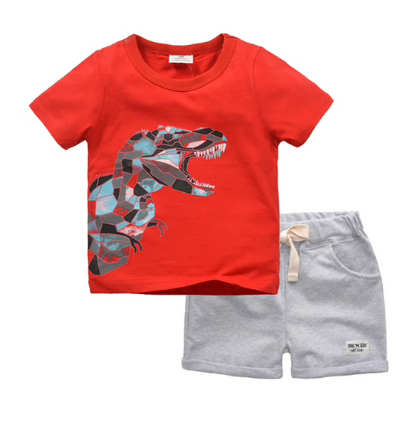 Abstract Dinosaur Outfit