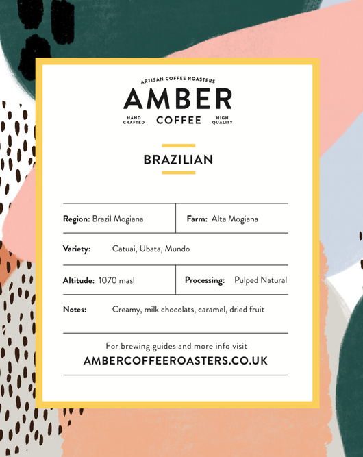 BRAZILIAN MOGIANA COFFEE (FREE DELIVERY)