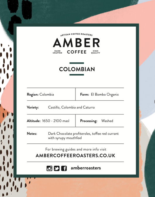 Colombian El Bomba Organic Coffee (Free Delivery)