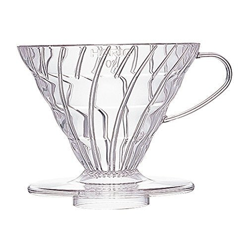 V60 clear plastic 02 dripper