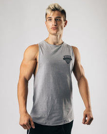 Competition Cutoff - Heather Grey
