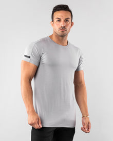Premium Rolled Muscle Tee - Grey
