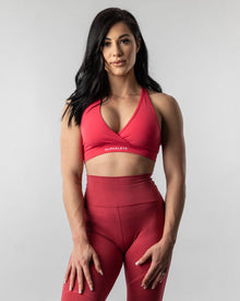 Surface Wrap Bra - Cherry Icee