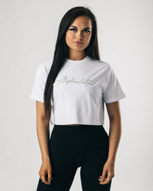 Signature Crop - White Stone