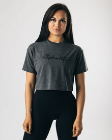 Signature Crop - Storm Grey