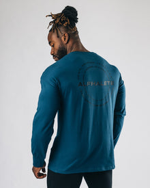 Caliber Long Sleeve - Muted Blue